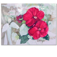 Watercolor Print – Hibiscus