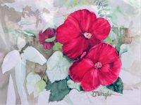 Watercolor Print – Hibiscus
