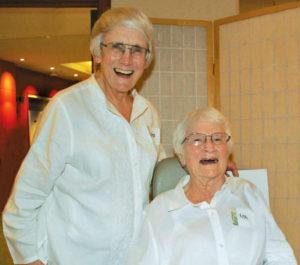 Sisters Barb Chenicek and Rita Schiltz, OP