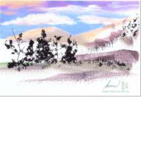 Meadows – Digital Watercolor And Ink