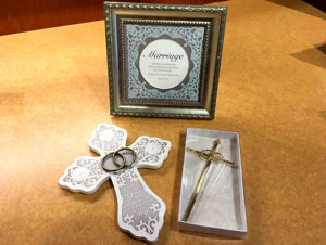 sample of gifts available at Weber Center Shop