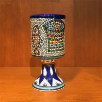 Loaves And Fishes Ceramic Goblet