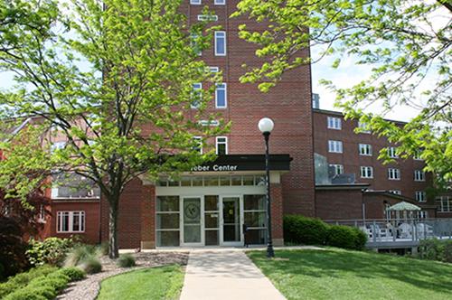 North Entrance Of Weber Center